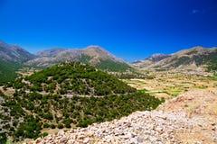 Askyfou plateau Royalty Free Stock Image