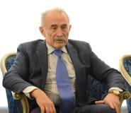 Aslambek Aslakhanov - русский политик, член совета федерации Заместитель председателя комитета Совета Федерации дальше стоковые изображения