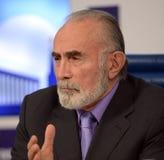 Aslambek Aslakhanov -俄国政客,联盟委员会的成员  联盟议会的副主席 库存图片