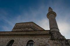 Aslan Pasha Mosque in de vesting van Ioannina in Griekenland Stock Foto's