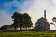 Aslan Pasha Mosque in de vesting van Ioannina in Griekenland Royalty-vrije Stock Afbeelding