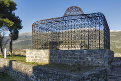 Aslan Pasha tomb in the castle of Ioannina, Epirus Stock Image