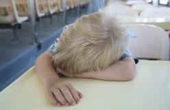 Asleeps мальчика Стоковые Изображения RF