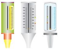 Asma. Medidor de fluxo máximo. Ilustração Stock
