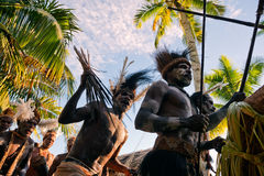 Asmat Doroe Ceremony stock image