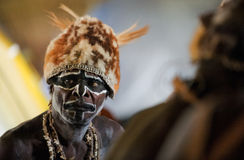 Asmat Portrait Royalty Free Stock Images