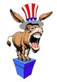Asno Democrata Imagens de Stock