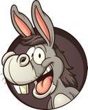 Asno dos desenhos animados Fotos de Stock Royalty Free