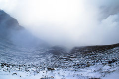Aso Volcano in Winter; Japan Stock Images