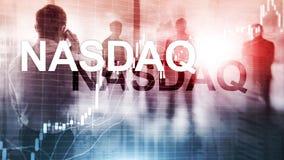 Asociaci?n nacional de la cita automatizada de los distribuidores autorizados de seguridades NASDAQ libre illustration