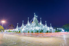 Asokaram Temple, Samutprakarn Province, Thailand. Buddhist in Thailand come pray in Magha Puja Day at Asokaram Temple, Samutprakarn Province, Thailand Royalty Free Stock Photography