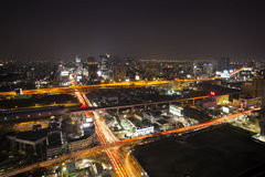 Asoke city Stock Photo