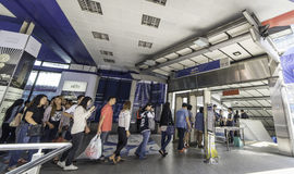 Asoke Junction station Royalty Free Stock Photography