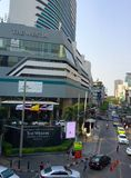 Asoke Montri Road  street view in  thailand. Stock Image