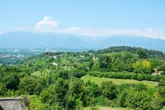 Asolo hills, Italy Stock Photography