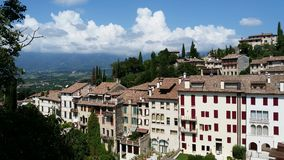 Asolo, Italia fotografía de archivo libre de regalías