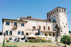 Asolo-Schloss Stockfoto