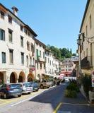 Asolo town, Italy Royalty Free Stock Photos