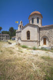 asomatos kyrktar den crete ön rethymnon Arkivfoto