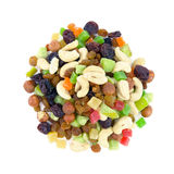 Asorti fruit and nut. Royalty Free Stock Photo
