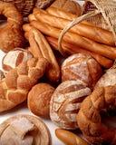 Asortment der Brote Stockbild
