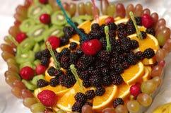 asortowana owoców zdjęcia stock