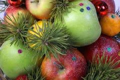 Asortowana owoc dla wakacje Obrazy Royalty Free