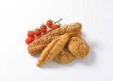 Asortowane chlebowe rolki Fotografia Stock