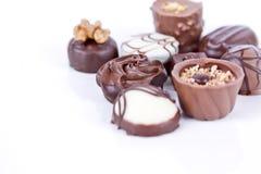 asortowane czekoladki Zdjęcia Royalty Free