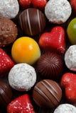asortowane czekolady Fotografia Royalty Free