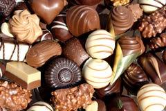 asortowane czekolady Obraz Royalty Free