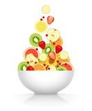 Asortowane owoc i jagody Obraz Stock