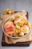 Asortowane owoc w dużym pucharze Zdjęcia Stock
