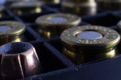 Asortowane Pistoletowe amunicje Obrazy Royalty Free