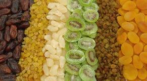 asortowane suszone owoce Zdjęcie Royalty Free
