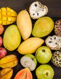Asortowane Tajlandzkie tropikalne owoc fotografia royalty free