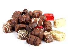 Asortowane Świetne czekolady Zdjęcie Stock