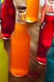 Asortowanego Organicznie rzemiosła Pomarańczowa soda Zdjęcie Royalty Free