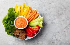 Asortowani świezi warzywa z upadu Zdrowym łasowaniem Fotografia Royalty Free