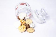 asortowani ciasteczka Obrazy Stock