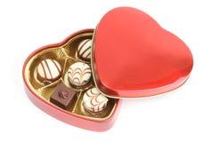 asortowani czekoladowi pralines Fotografia Stock