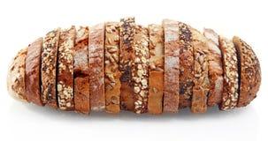 Asortowani Niemieccy chlebów plasterki Tworzący jako Jeden Obrazy Royalty Free