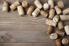 Asortowani wino korki Obraz Stock