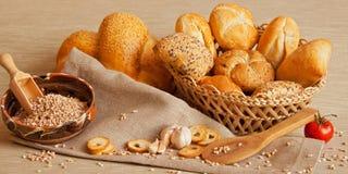 Asortowany chleb Fotografia Stock