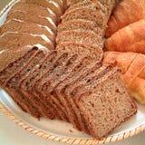 Asortowany chleb dla śniadania Obrazy Royalty Free