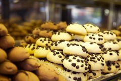 Asortowany chleb i ciasto Fotografia Stock