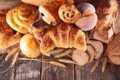 Asortowany chleb i ciasto Obraz Royalty Free