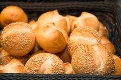 Asortowany chleb z ziarnami i sezamem Obraz Stock