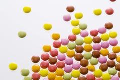 asortowany czekoladowy kolorowy Obrazy Stock