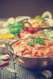 Asortowany indyjski jedzenie Obrazy Stock